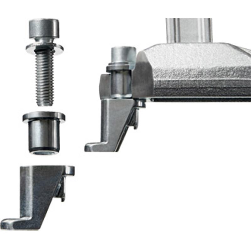 Elements de serrage pour table de soudure